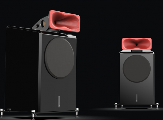BACH horn speakers